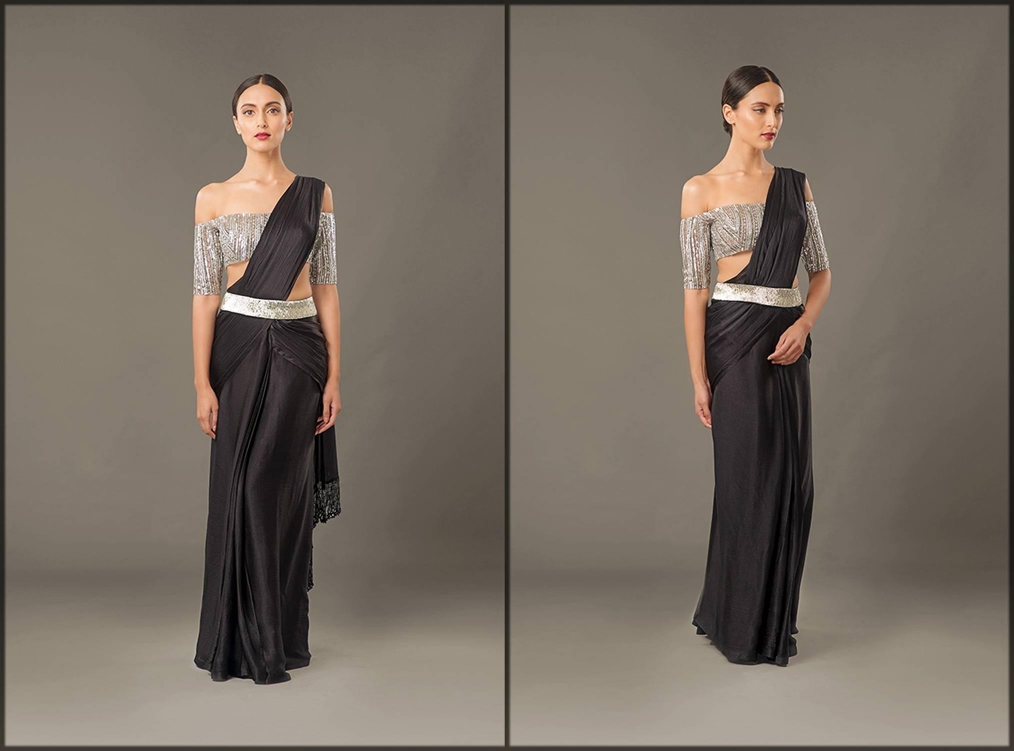 Black Belt Sari