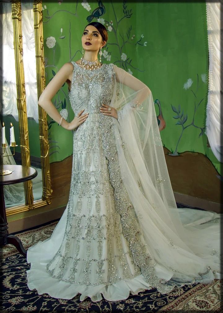 Bridal maxi for walima