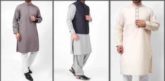 Cambridge Kurta Collection 2020 for Men with Waistcoat Designs [Prices]