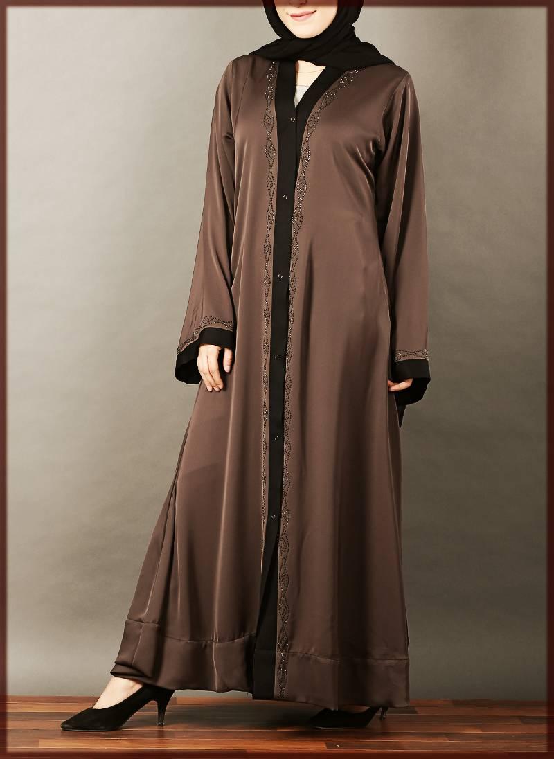 Casual Open Abaya Design