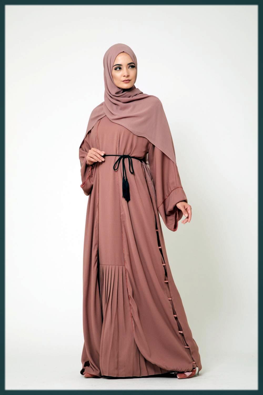 Chic Designer Dubai style abaya