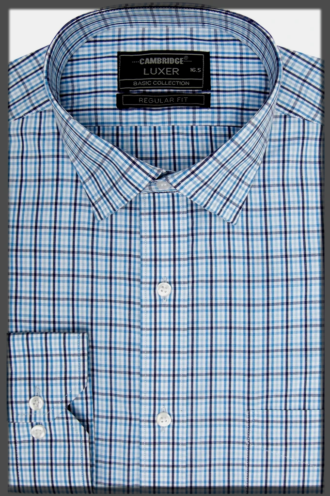 Classic Check Shirts for Men