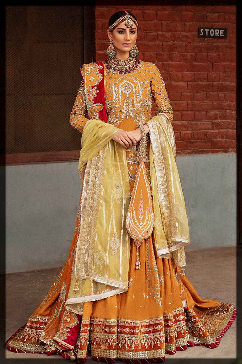 Completely Feminine outfit for bride