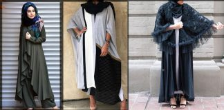 New Dubai Style Abaya Designs 2021 for Women with Hijab Combination