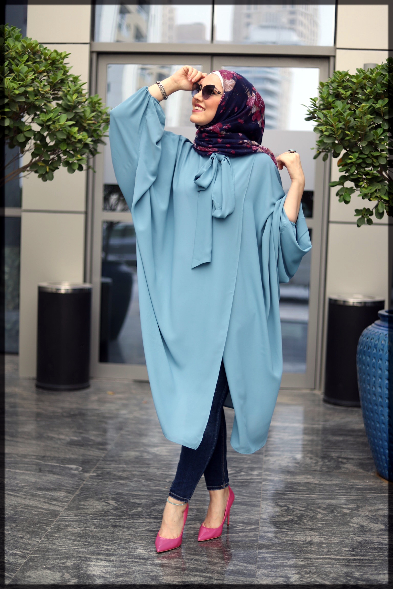Eastern hijab Wrap