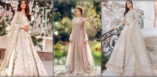 Latest Bridal Maxi Designs in 2021 - Pakistani Maxi Dresses for Wedding