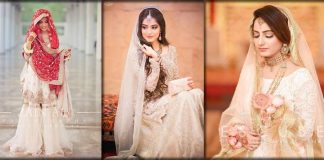 Bridal Nikkah Dresses 2021 in Pakistan - Best Collection for Nikkah Day