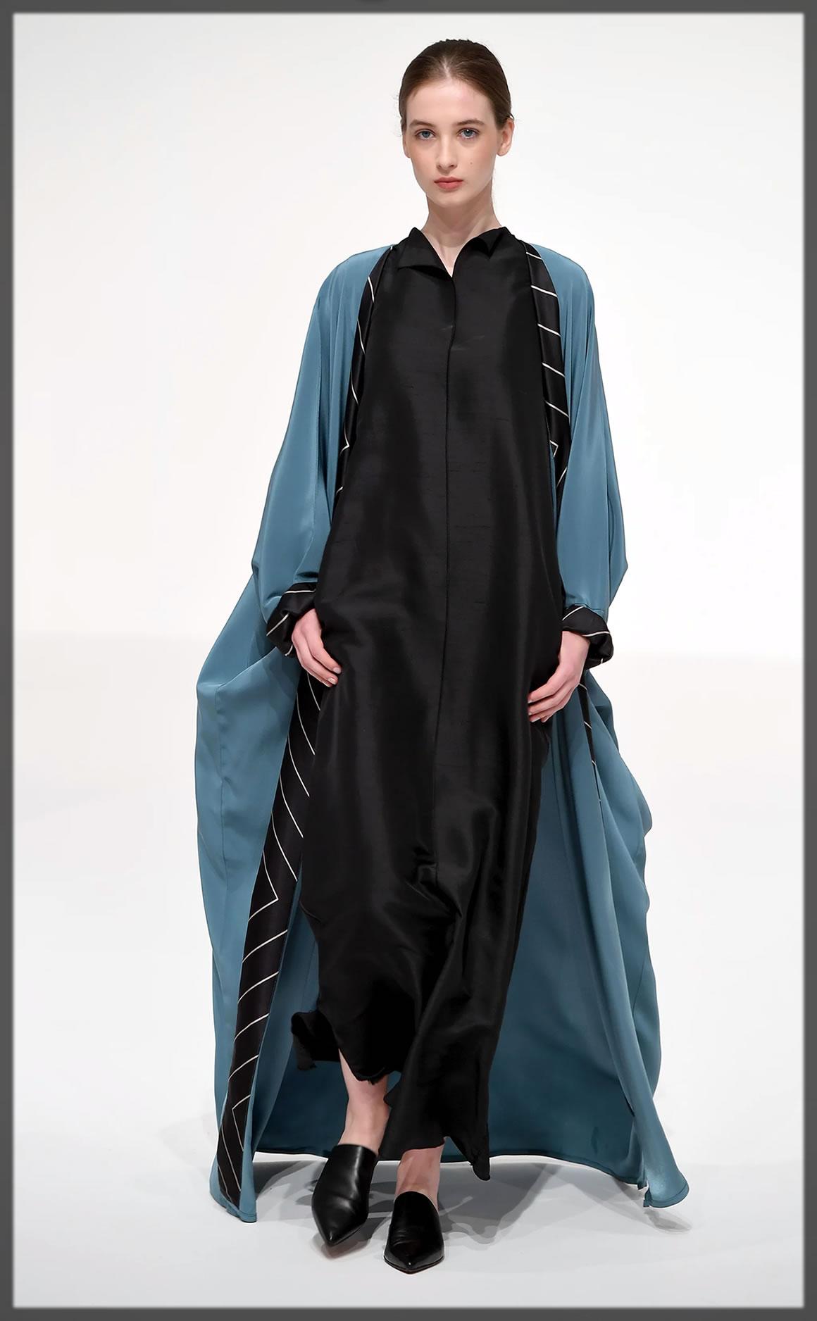 Ghudfah Dubai style abaya