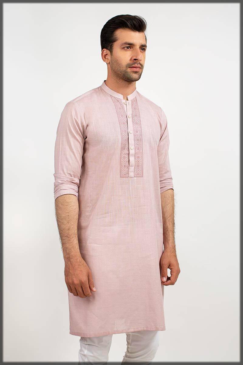 Graceful Gul Ahmed Men Kurta Collection