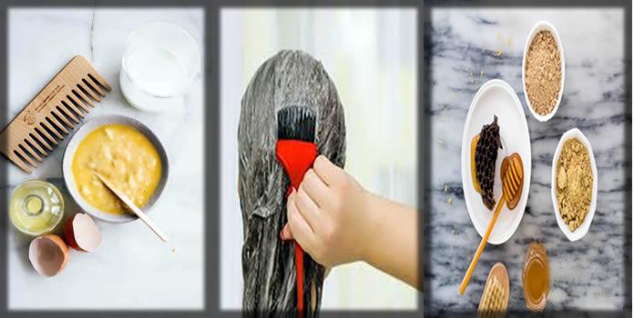 Homemade hair masks for hair loss and dandruff