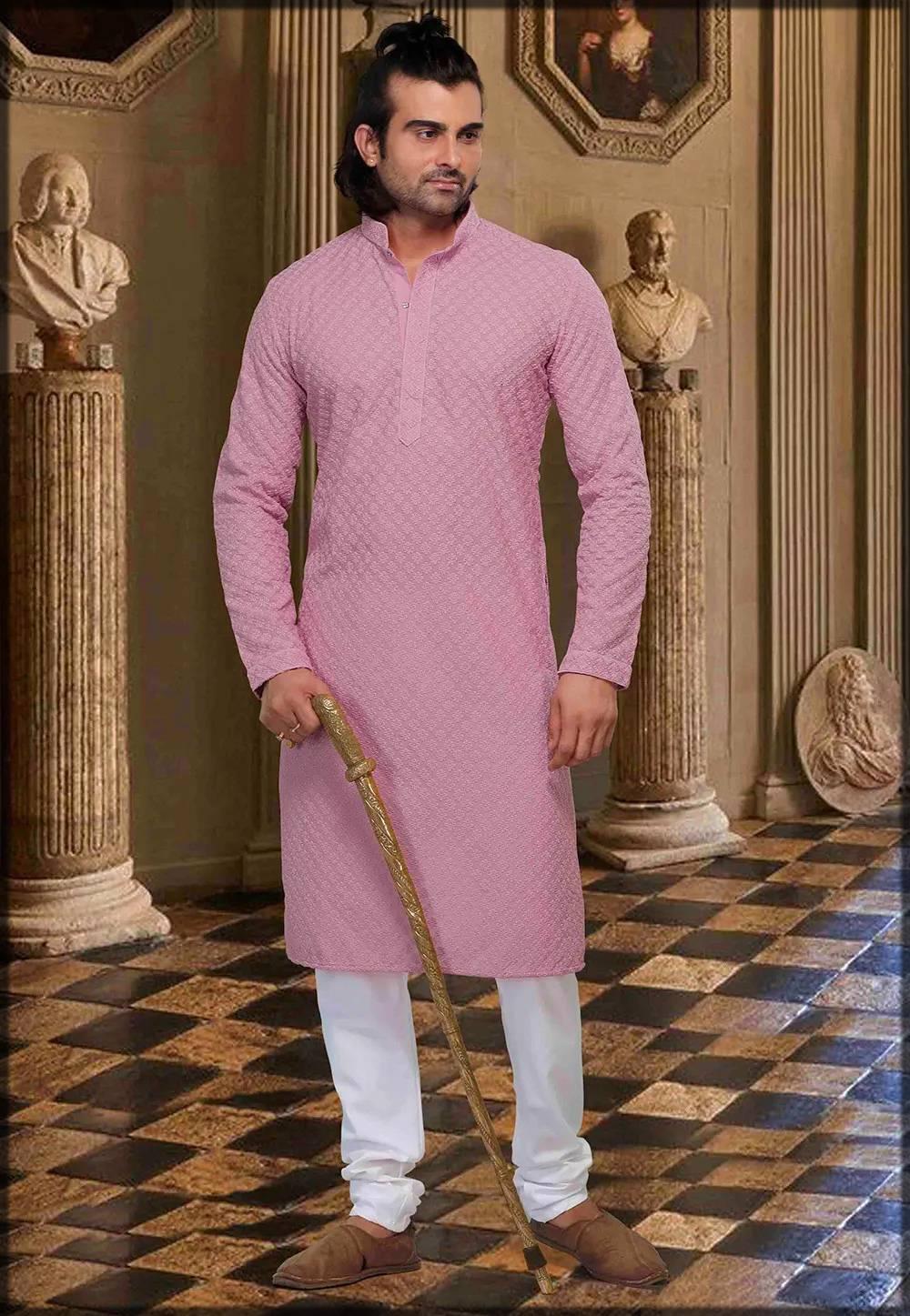Indian Chikankari Kurta Pajama