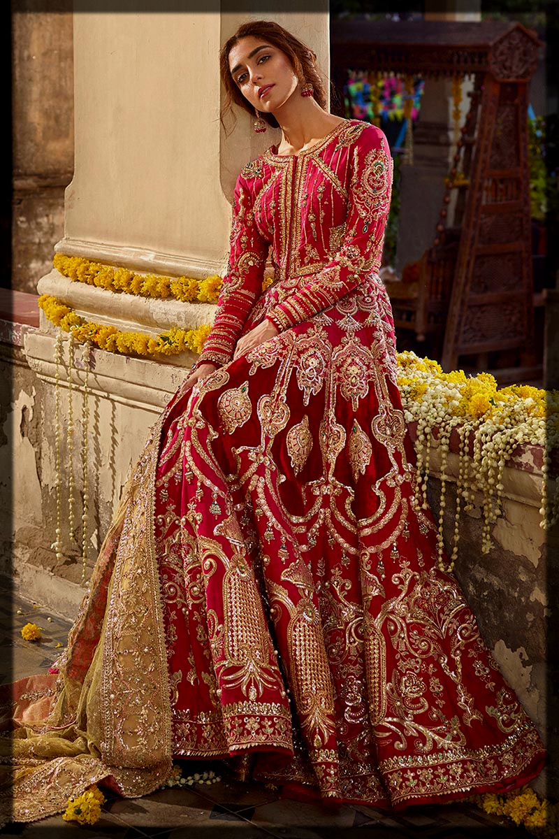 Latest Mohsin Naveed Ranjha Bridal Collection for women