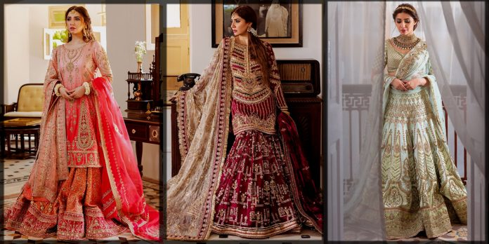 Latest and classical Mohsin Naveed Ranjha Bridal Collection