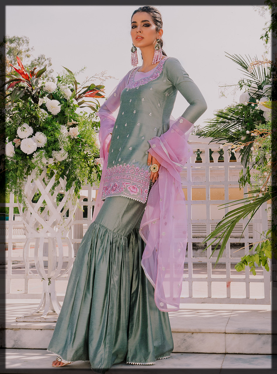 Lovely Zainab Chottani Eid Collection for Women
