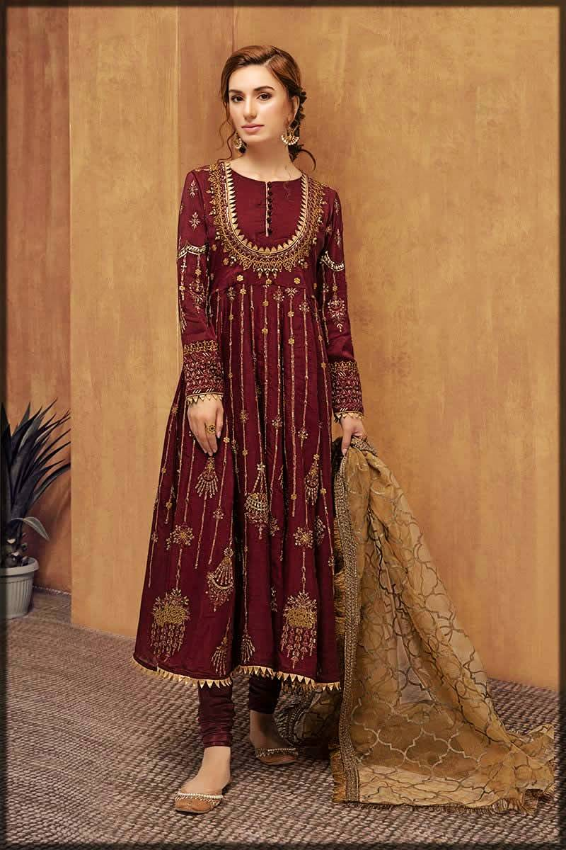 Pakistani Party Wear Frocks