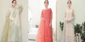 Nimsay Eid Collection 2021 with Prices - Beautiful Lawn Dresses for Eid