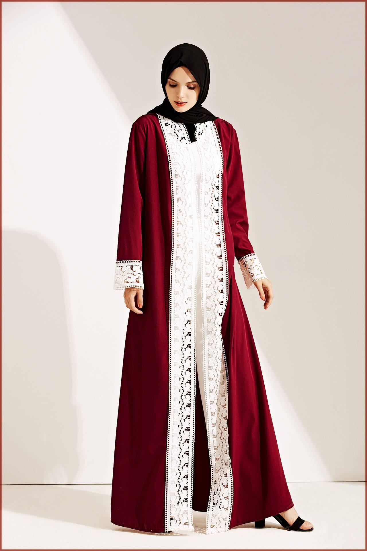 Open Abaya Design