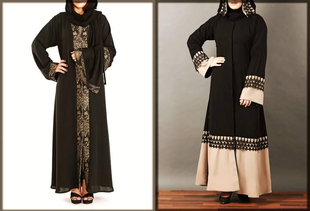 Open Abaya Designs