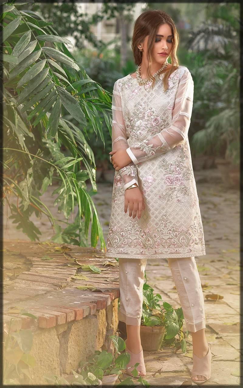 Organza Pakistani formal dresses