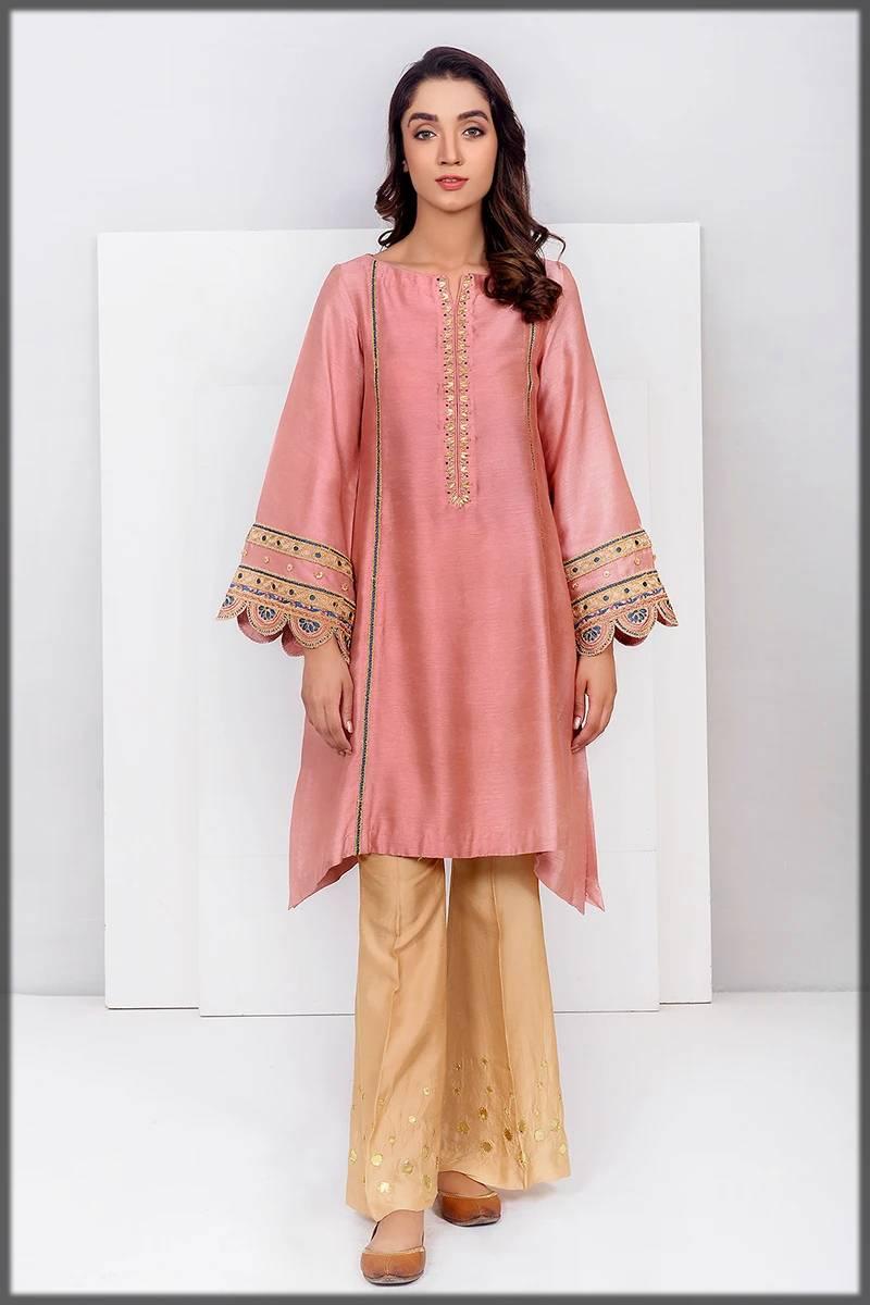 Pakistani Formal Silk Dress