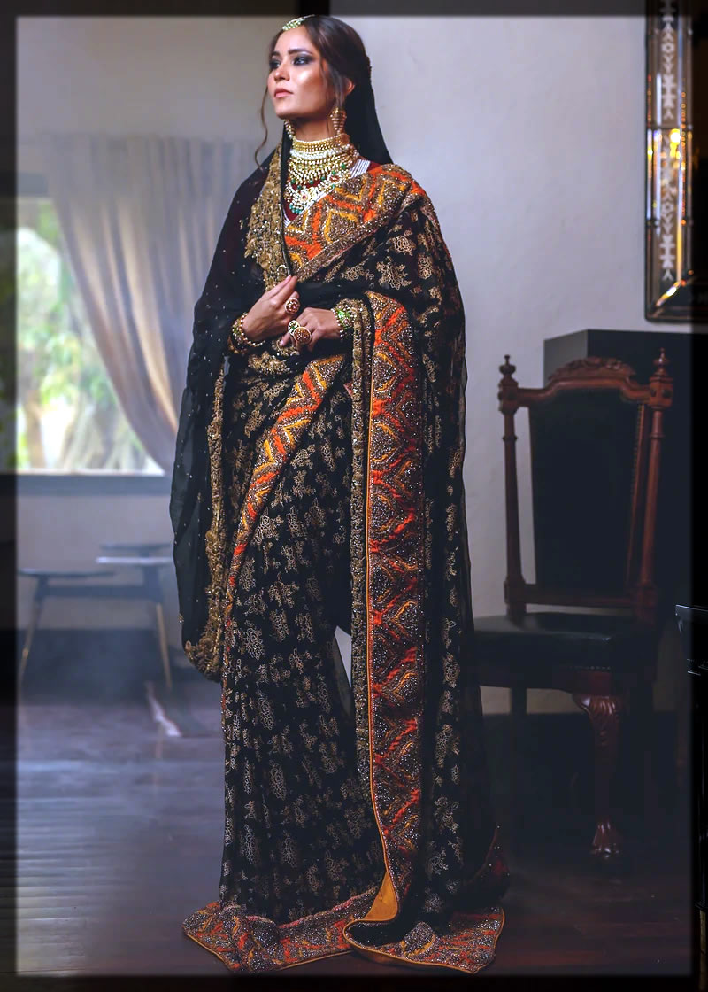 Pakistani HSY Saree Designs