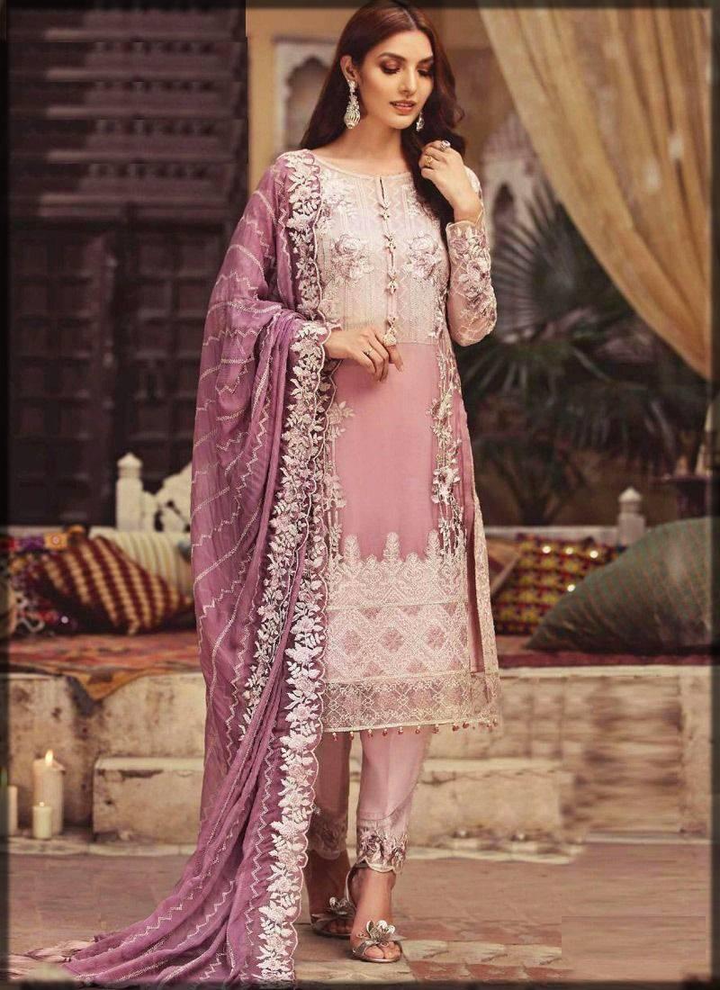 Pretty Pink Chiffon Dress