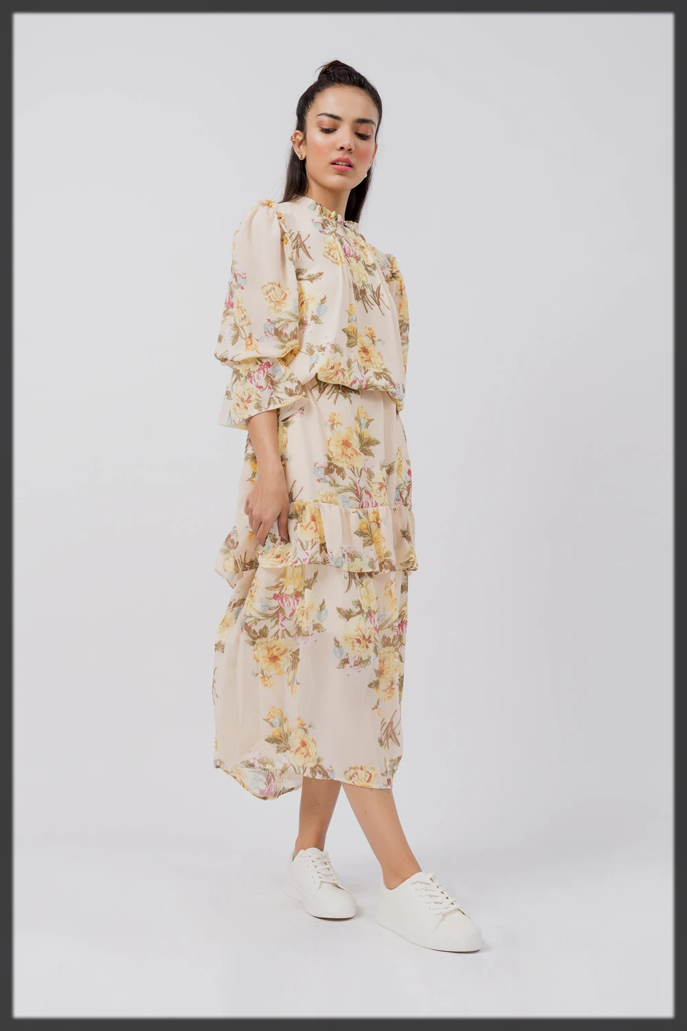 SUMMER FLORAL LONG DRESS
