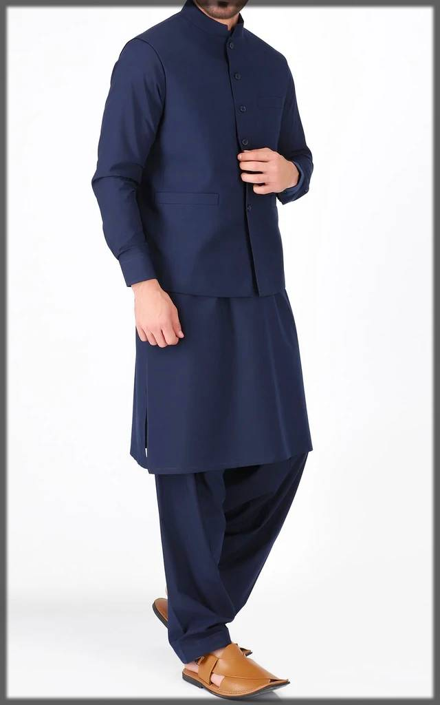 Splendid Cambridge kurta collection with waistcoat