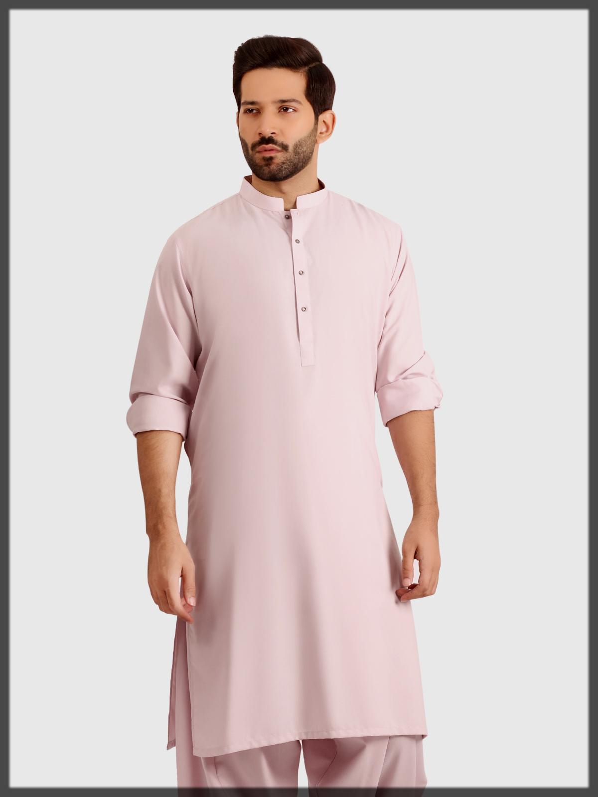 Splendid Light Pink Eden Robe Outfit