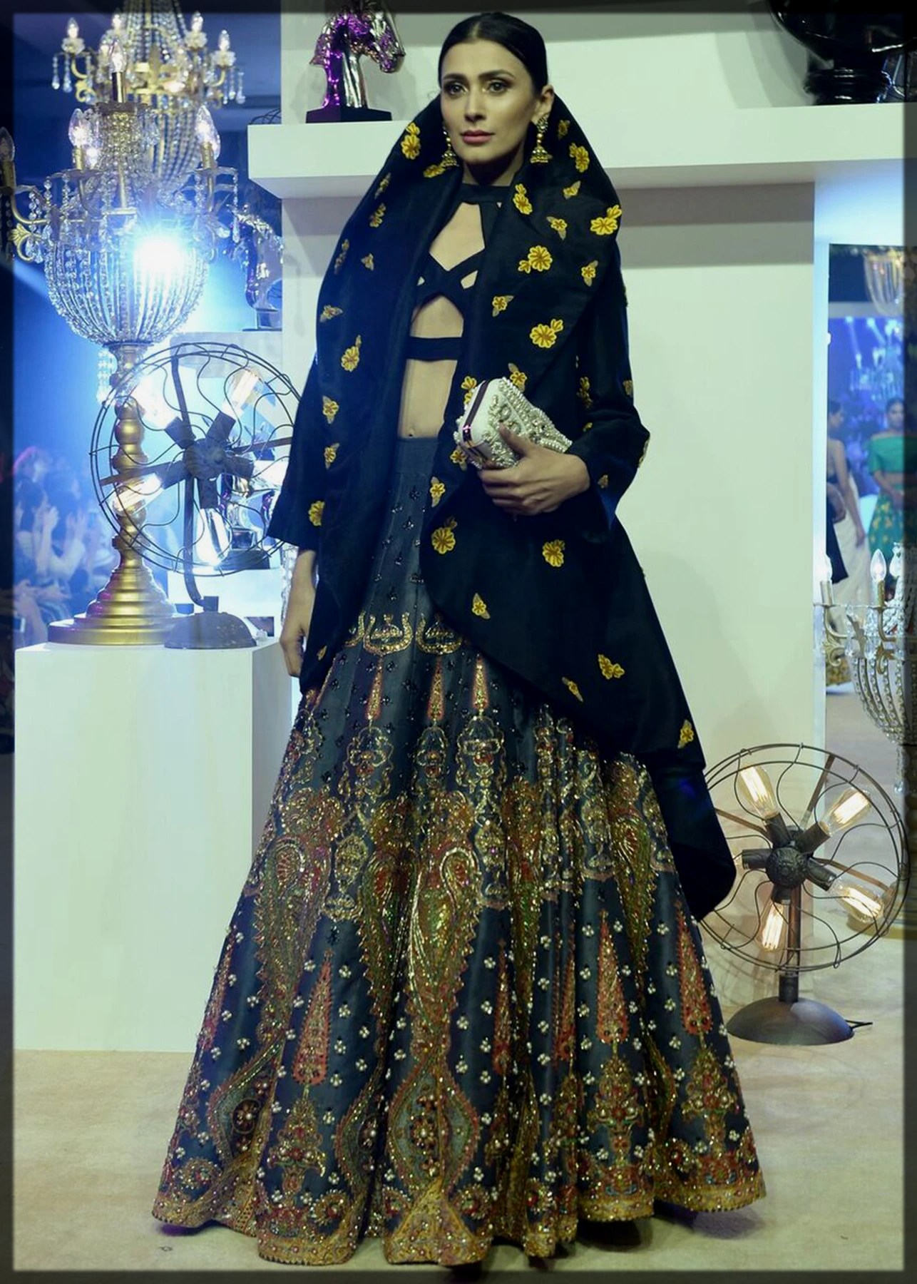 Styling of Black Dresses for Walima