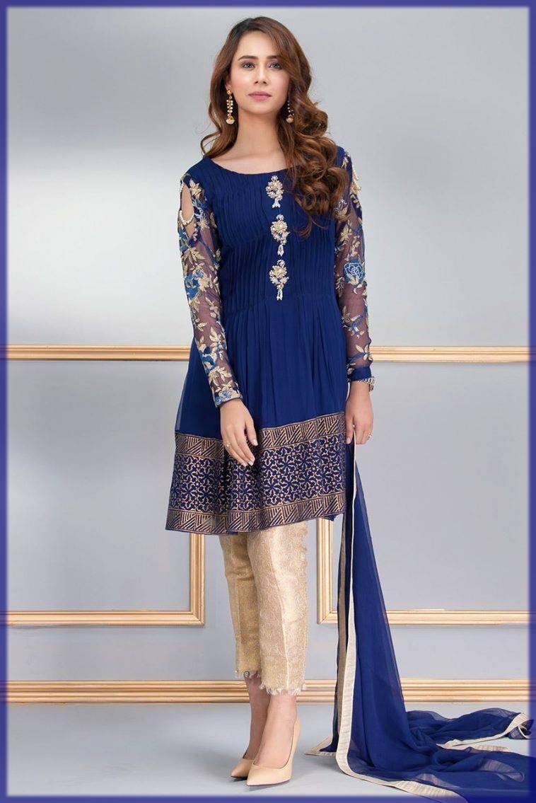 Stylish Pakistani Formal Dress