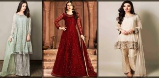 Stylish Pakistani Party wear Frocks 2020 - New Designs of Frock Dresses
