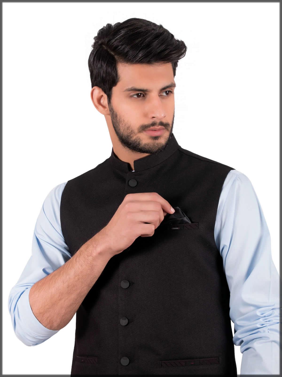 Stylish back waistcoat