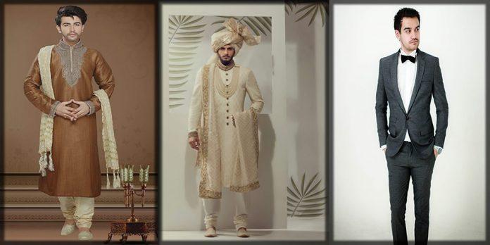 Stylish wedding dresses for pakistani men
