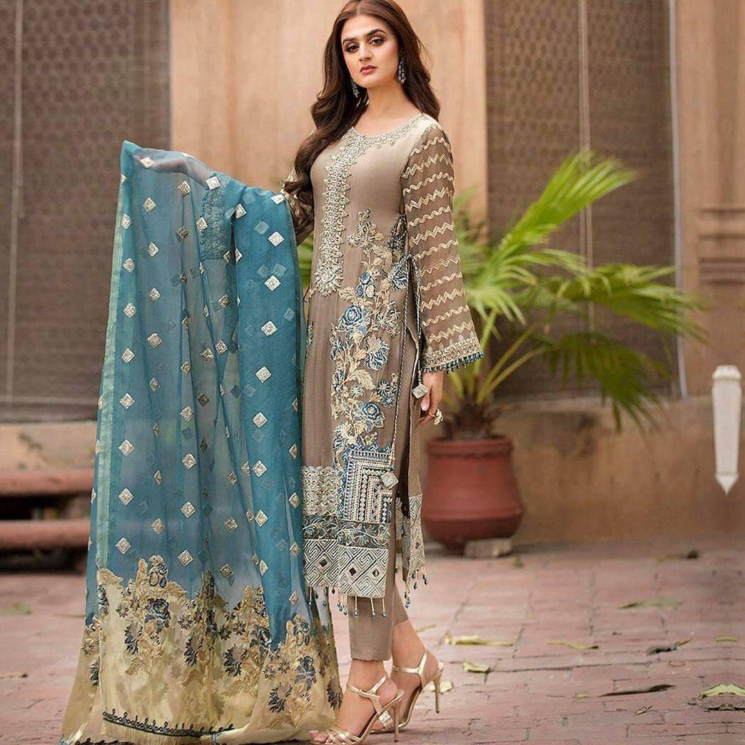 Pakistani formal dresses for wedding