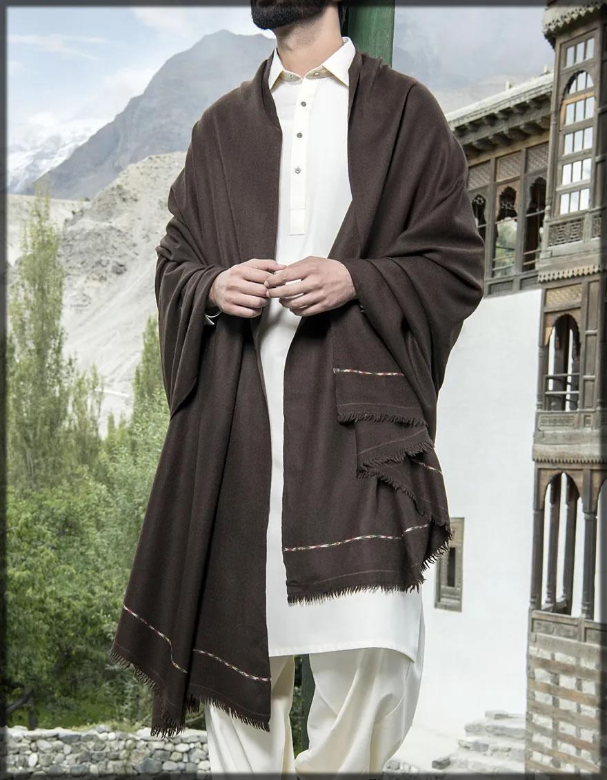 Winter wear for men Shawls by J