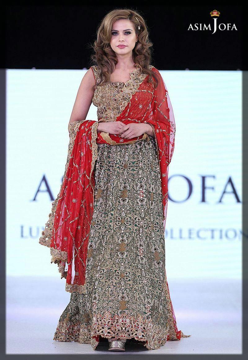 alluring asim jofa bridal collection