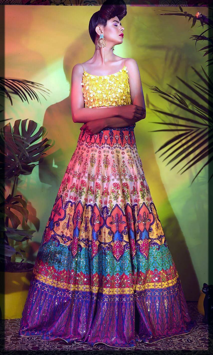 appealing bride mehni dresses