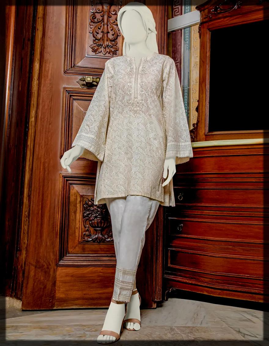 appealing Junaid Jamshed Kurti Collection