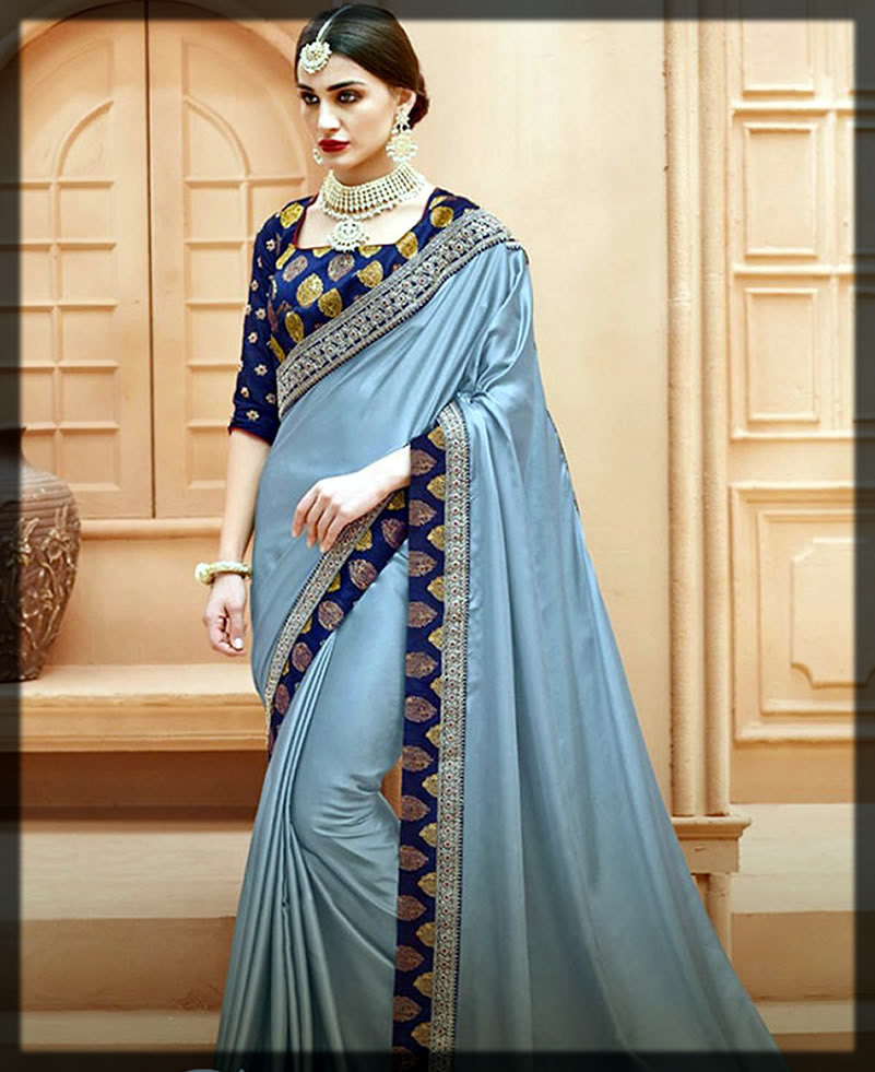 appealing saree for youngest