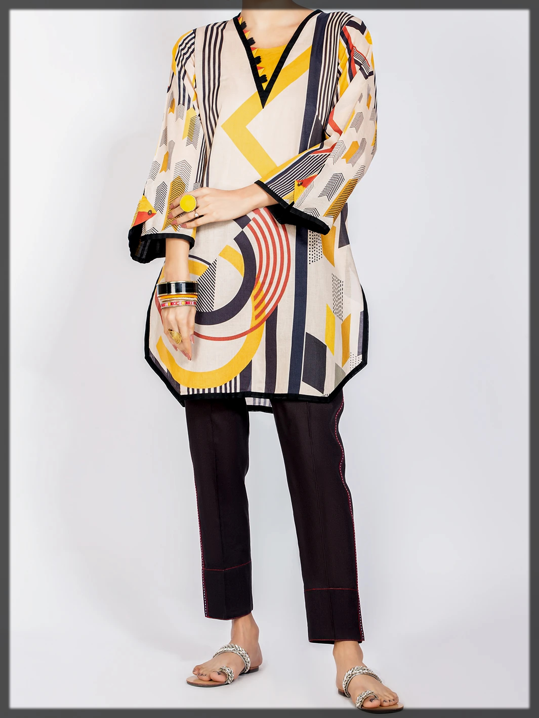 appealing summer tunic for eid