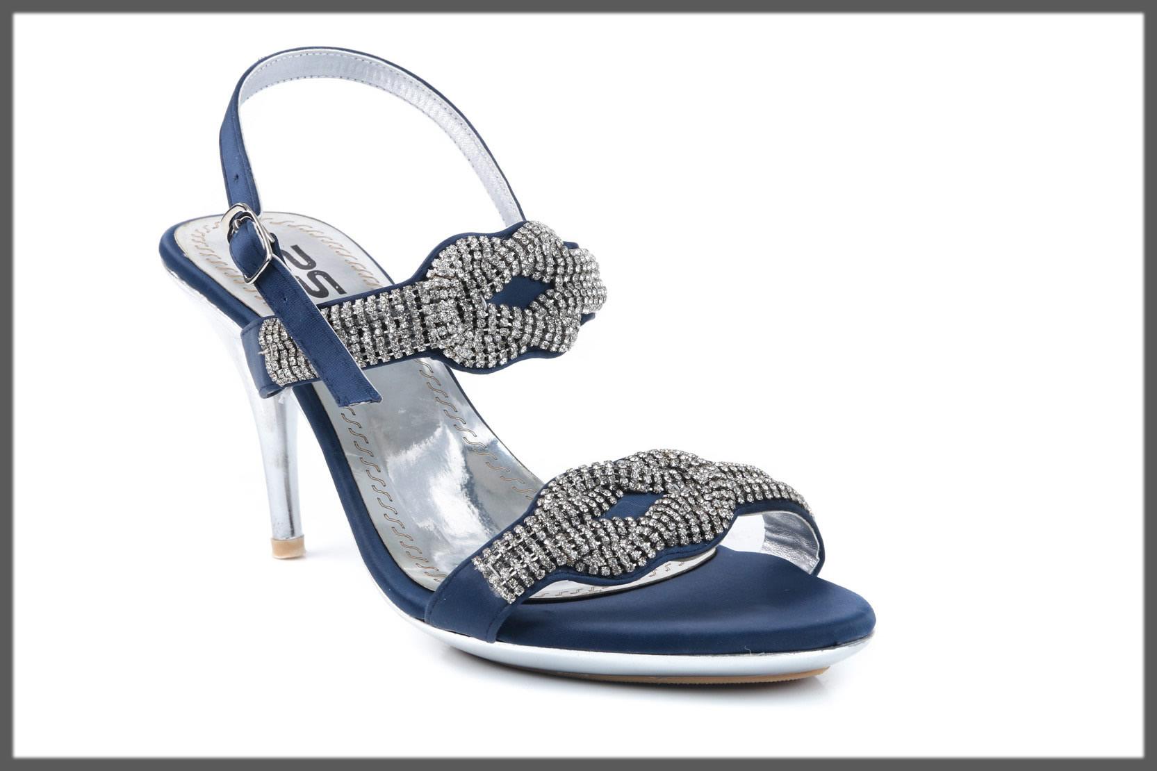 blue heels for women