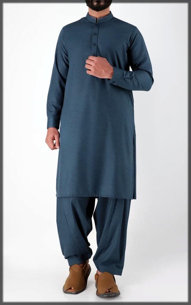 blue stylish eid wear Cambridge eid collection