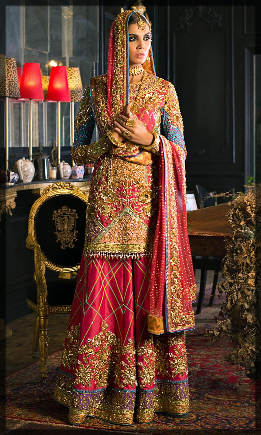 bride shalwar kameez collection