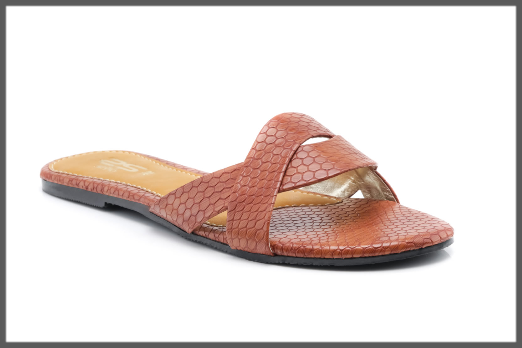 brown casual chappal for women