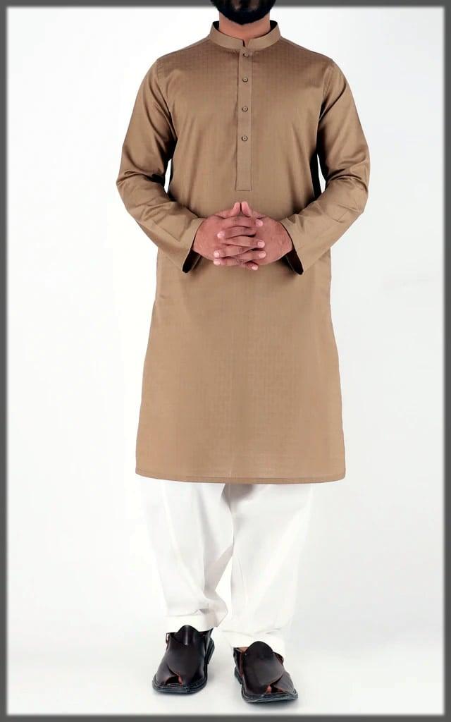 brown eid dress by cambridge