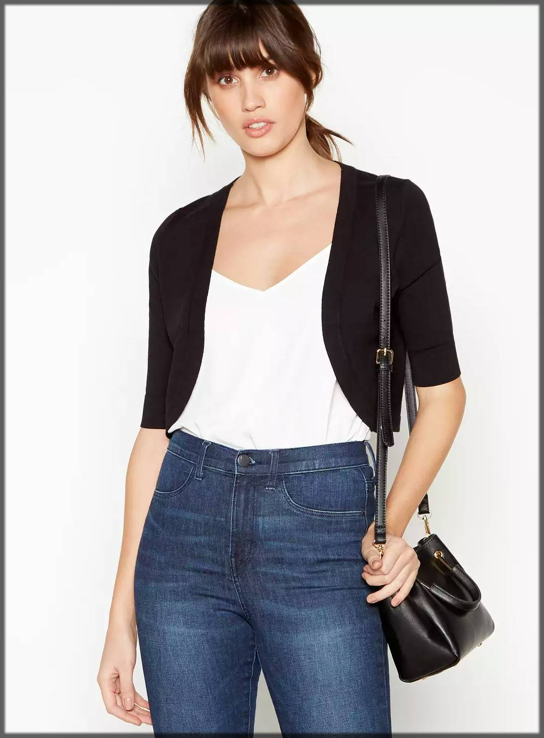 casual wear outfit with jacket