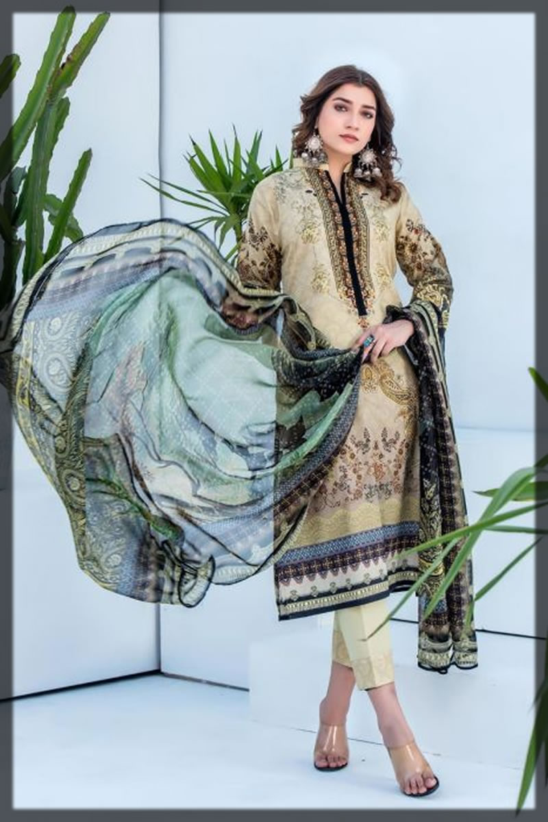 classic printed jacquard dress