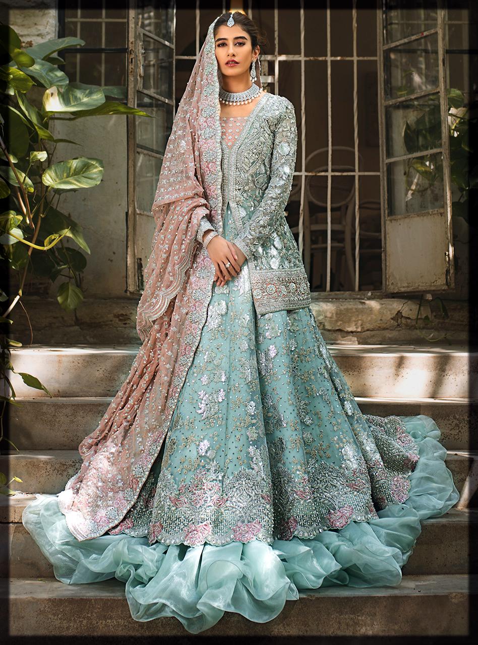 classy Zainab chottani bridal dresses