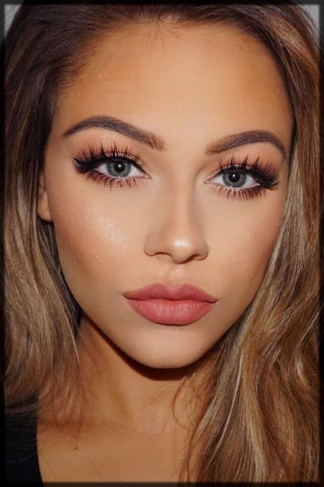 classy makeup look